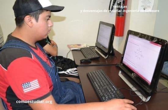 Ventajas y desventajas de estudiar Ingeniería de software