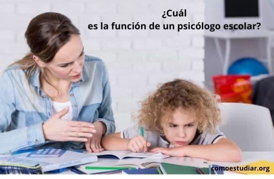 psicólogos escolares