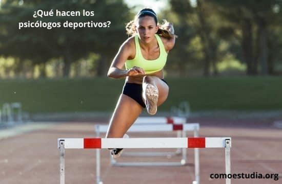 psicólogos deportivos