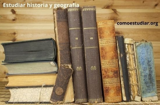 estudiar historia y geografía